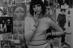 Who are you Polly Magoo? French film directed by former Vogue photographer William Klein and starring real life '60 model Dorothy McGowan