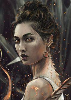 Fantasy Portraits, Character Portraits, Character Art, Character Ideas, Character Creation, Medieval Girl, Medieval Dragon, Fantasy Inspiration, Character Inspiration