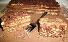 O prajitura ce facea furori prin anii - Rețete Merișor Romanian Desserts, Russian Desserts, Romanian Food, Romanian Recipes, Sweets Recipes, Cookie Recipes, Hungarian Cake, Food Cakes, Something Sweet