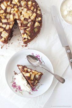 Die 13 Besten Bilder Von Birnenkuchen Pies Tray Bakes Und Bakken