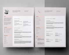 Free Cover Letter For Resume Resume Template & Cover Letter Template For Word And Pages .
