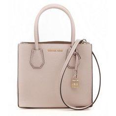 a9d77b036a24bb Michael Kors Kors Studio Mercer Soft Pink Leather Medium Satchel Handbag  #pinkleatherhandbags