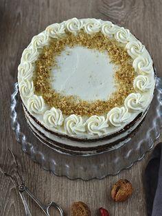 Mrkvový dort / carrot cake / mrkvové muffiny No Bake Pies, Vanilla Cake, Birthday Cake, Baking, Recipes, Food, Birthday Cakes, Bakken, Essen