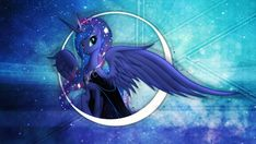 Equestria Daily - MLP Stuff!: Decorate Your Desktop in Luna Wallpaper - Compilation of the Best!