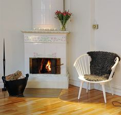 The Beauty of Swedish Fireplaces.