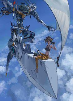 Sci fi character art: the wildest fantasies come alive - The Designest Robot Concept Art, Robot Art, Neon Genesis Evangelion, Gundam, Character Art, Character Design, Arte Cyberpunk, Mecha Anime, Estilo Anime