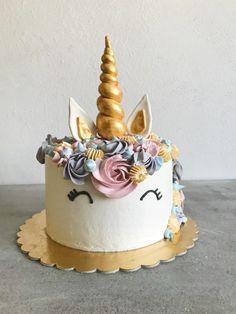 Unicorn Birthday, Birthday Cake, Cake Recipes, Cupcake, Food Cakes, Foods, Decorating, Baby, Cakes