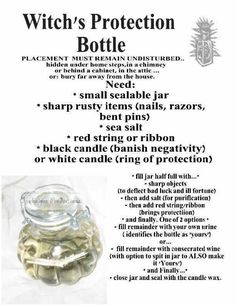 Protection from Evil Oil oz for Negativity, Psychic Attacks & Evil Intentions Hoodoo Wicca Pagan Voodoo Conjure Jar Spells, Magick Spells, Wicca Witchcraft, Blood Magic Spells, Wiccan Books, Gypsy Spells, Healing Spells, Candle Spells, Witch Bottles