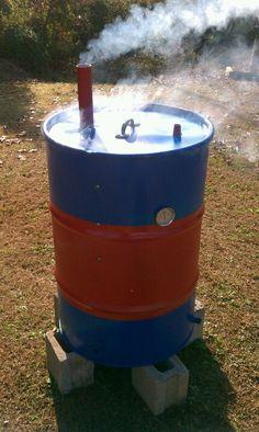 Smoker Uds Smoker, Barrel Smoker, Barbecue Pit, Bbq Grill, Grilling, Ugly Drum Smoker, Smokehouse Bbq, Wood Grill, Homemade Smoker