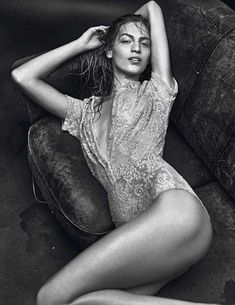 Vanessa Axente in 'Irresistibles' by Mario Sorrenti for Vogue Paris February 2014 | TheFashionography