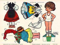 1962 - María Pascual: Gallega, Aragonesa, Asturiana ~ Doll from Galicia, Aragón & Asturias