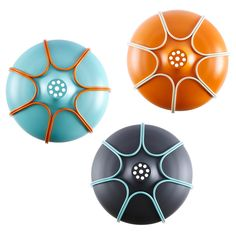 Tull is available in the colors turquoise/orange, orange/beige, anthracite/turquoise.