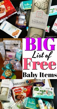 baby stuff TONS Of FREE Baby Samples, Coupons, And More. all you have to do is share with your mom friends. These offers are legit! Free Pregnancy Stuff, Pregnancy Freebies, Baby Freebies, Birthday Freebies, Pregnancy Tips, Pregnancy Photos, Get Free Stuff, Free Baby Stuff, Cheap Baby Stuff