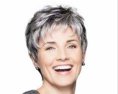 Short Silver Hair, Short Grey Hair, Short Hair Cuts For Women, Short Hair Over 60, Gray Hair, Easy Hairstyles For Long Hair, Short Hairstyles For Women, Wig Hairstyles, Hairdos