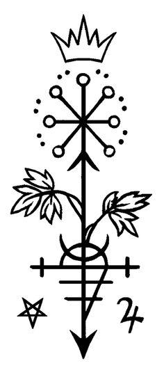 Botanical Alchemy Sigils: masterwort
