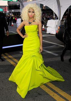 Nicki Minaj AMA Fashion 2012 — Best Dressed of the 40th American Music Awards - Hollywood Life