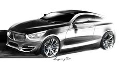 01-Render - Car  Sketch - Design- Project - Mikael Lugnegard - Concept Designer for Von Braun Sports Cars - BMW Cars