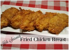 Ingredients     3-4 Pcs Boneless Skinless Chicken Breasts  1 1/2 c All Purpose Flour  1 tsp Salt  1/2 tsp Black Pepper  1/4 tsp Onion Pow...
