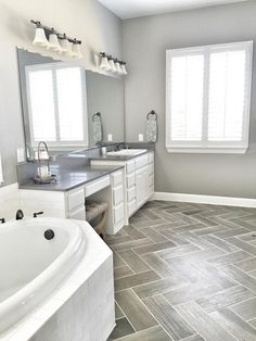 I LOVE this tile and pattern!