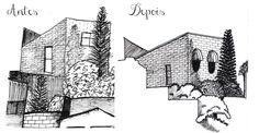 Desenho do Dia #184 - Remake Casa #11 - Soraia Casal