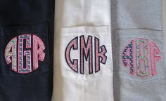 Vineyard Vines monogram pocket tshirt by memoandmom on Etsy, $21.00                                                                                                                                                                                                                                                                                                                                                                                                                                                                                                                                                             Etsy