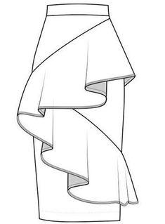 Fashion design sketches 752804893943648869 - fashion flats Source by abhehansen Dress Design Drawing, Dress Design Sketches, Fashion Design Sketchbook, Dress Drawing, Fashion Design Drawings, Fashion Sketches, Drawing Clothes, Art Sketchbook, Drawing Art
