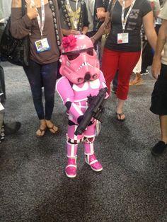 Pink Stormtrooper - Little Girl Cosplay — GeekTyrant