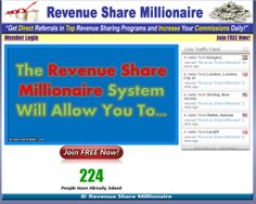 Revenue Share Millionaire: 224 Members