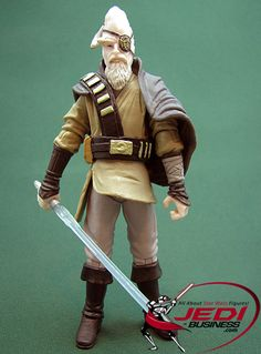 Star Wars Action Figure Ki-Adi Mundi (Concept by Derek Thompson), Star Wars The Legacy Collection