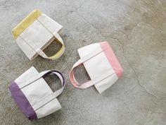 色とりどりの手作り帆布バッグSATTE HANPUのトートで日常に小さな幸せを