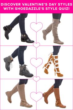 Tons of New Cute Valentine's Day Shoes Just Arrived! Discover Valentine's Day Styles with ShoeDazzle's Style Quiz!