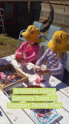 Infant Sensory Activities, Sensory Play, Learning Activities, Activities For Kids, Outdoor Learning, Outdoor Play, Family Day Care, Sensory Tools, Messy Play