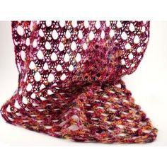 Drachenwolle sjaal, shawl, stola, #haken, gratis patroon, Nederlands, #haakpatroon, verloopgaren
