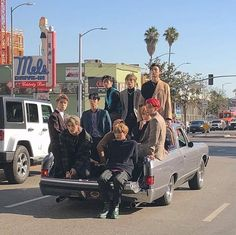 only nct 127 could do a photoshoot in a public place or exactly LA road and still slaying everything // pin:nadiazrr Jaehyun Nct, Nct Taeyong, Winwin, Nct 127, Rapper, Nct Group, K Wallpaper, Pastel Wallpaper, Doja Cat