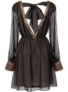 Cute Chiffon Dress Unique Style Inspiration Apparel Clothing Design #UNIQUE_WOMENS_FASHION