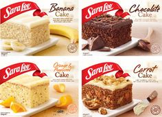 Note: I pureed the banana very well in the food processor (rather than leaving it semi-chunky like I usually do for banana bread). I think it helped achieve a processed, fine texture like Sara Lee's. Sara Lee's Iced Banana Cake 9 x 13″ pan | Bite Me Cookbook 2 1/2 cups flour 2 tsp...