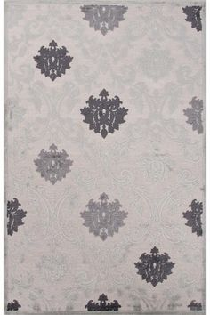 Navy and cream color Audrey Area Rug - Traditional Rugs - Machine-made Rugs - Synthetic Rugs | HomeDecorators.com
