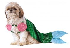 Rubies Costume Company Mermaid Dog Costume, Medium Rubie's http://www.amazon.com/dp/B00XBKXIB4/ref=cm_sw_r_pi_dp_c7dfxb0FM76BX  200 each