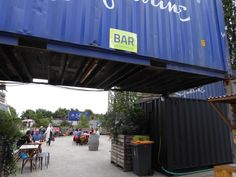 Zomerbar 2015 Bar Oost - container / crane / industrial