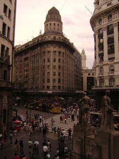Buenos Aires - Florida y Diagonal Norte | via Tumblr