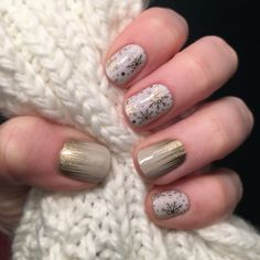Champagne Frost and Gilded Jamberry Nail Wraps  Enbjams.jamberry.com