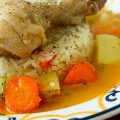 Coxas de Frango Cozidas {Comfort Food}