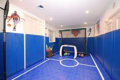 Basement design - contemporary - kids - new york - AMI Designs