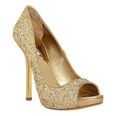 gold high heels (4)