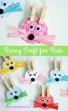 bunny craft for kids: