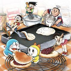 ドラえもん Doraemon「みんなで作ろう!」/「ヨネえもん」のイラスト [pixiv]
