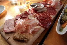 Rustic sharing boards