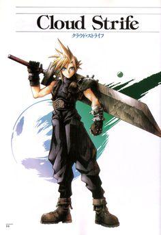 Final Fantasy 7 ( Cloud ) Poster - Awesome - Huge Poster 15 in x 24 in Final Fantasy Cloud, Final Fantasy Artwork, Fantasy Series, Video Game Posters, Video Games, Cloud Costume, Fantasy Posters, Cloud Drawing, Best Rpg