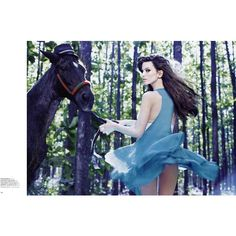 ❤ liked on Polyvore featuring horses, models, animals and backgrounds