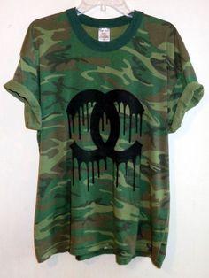 9d7f4d04990c07 Melting Shanel Camo Tee · Camo Tee ShirtsDip Dye T ShirtsTie ...